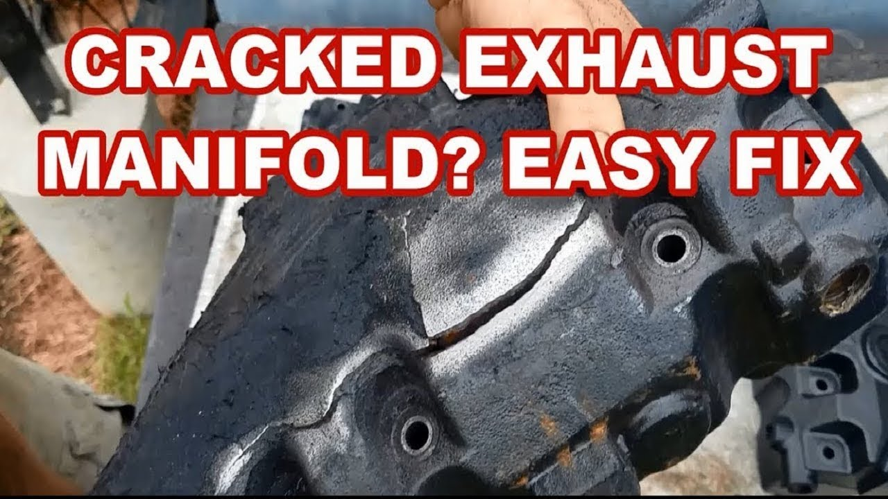 silicone for cracked exhaust manifolds does it hold and why do manifolds crack