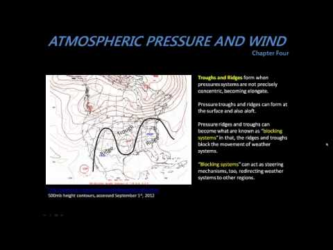 GeoWx: 4.4: Highs and Lows, Troughs and Ridges