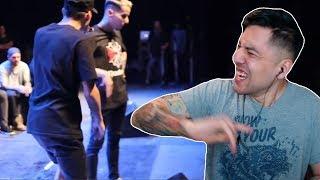 se RINDIERON ante estos PUNCHLINES! | Batallas de rap | MARALB REACT