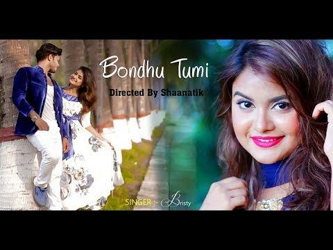 Bondhu tumi ।। বন্ধু তুমি ।। BRISTY ।  | Official Video HD | Bangla new song 2017
