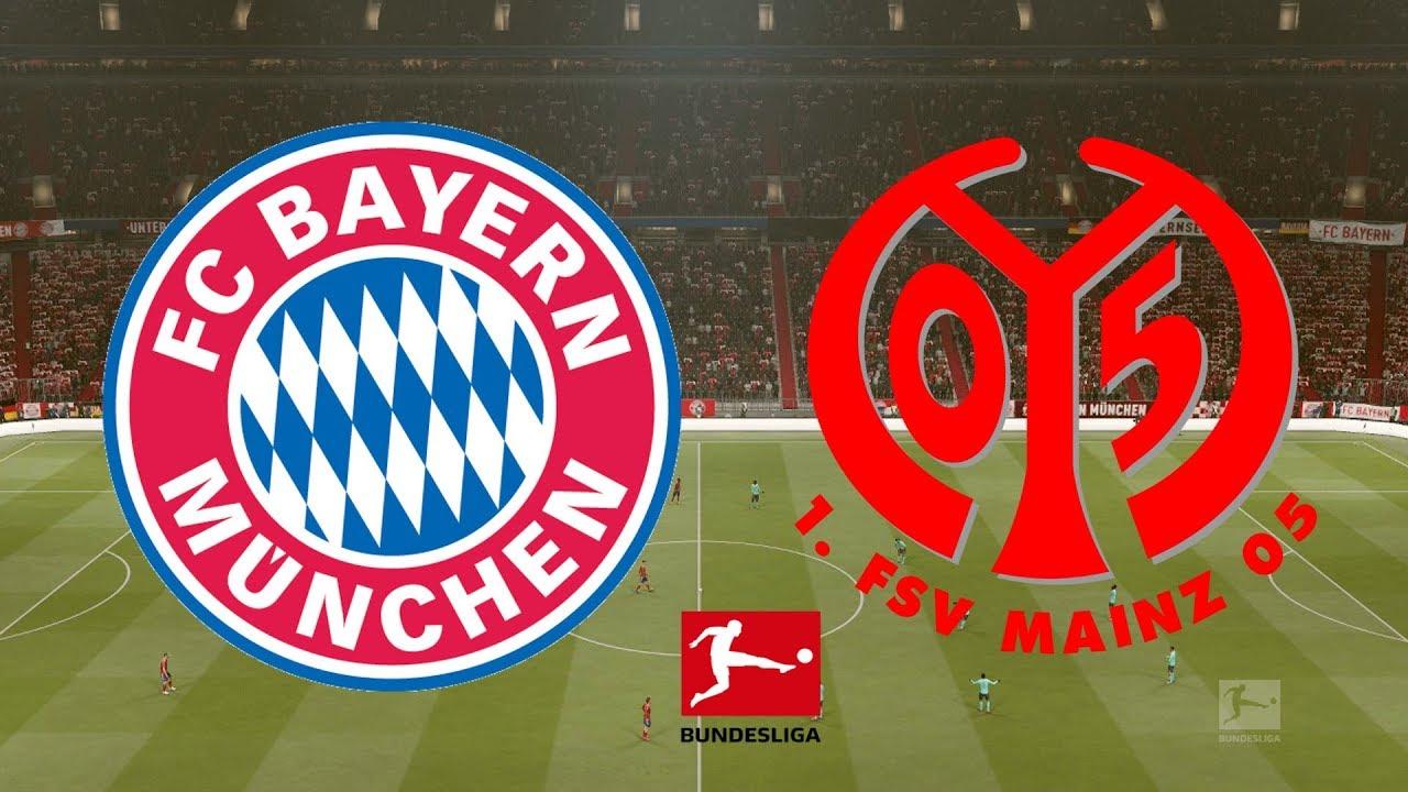 Bundesliga 2018/19 - Bayern Munich Vs Mainz - 17/03/19 - FIFA 19 - YouTube