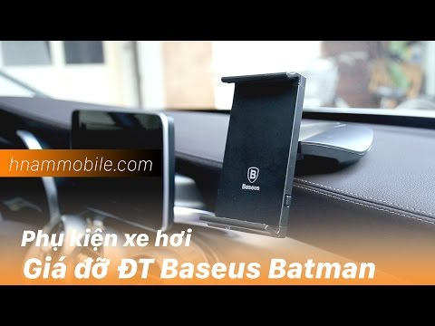 H-Channel | Giá đỡ điện thoại trên xe hơi phong cách Batman cực ngầu.