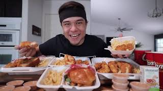 thrill Reacted to mątt Stonie eat Raising Cane's Full Menu Challenge!! (All 5 Combo Meals)