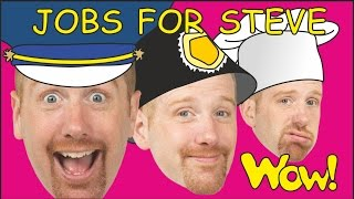 Jobs For Steve And Maggie   Hide And Seek | English Stories For Kids | Wow English Tv