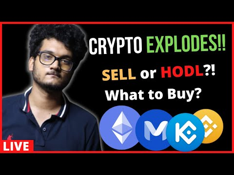 CRYPTO MARKET EXPLODES BITCOIN UPDATE  | SELL OR HOLD | Altcoins to Buy ETH SOL UNI
