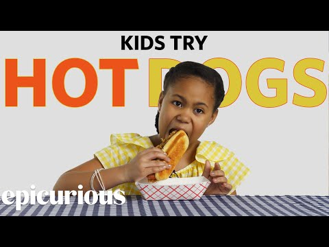 Kids Try Hot Dogs from 10 States