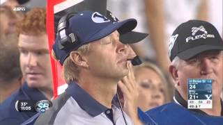 Former players discuss Bronco Mendenhall leaving BYU for Virginia