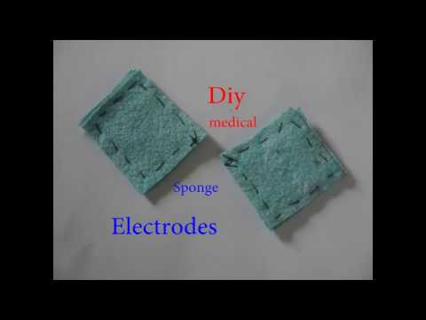 How to make sponge electrodes for TENS, TDCS or GVS, ... Musiktitel / von Dag Reinbott /