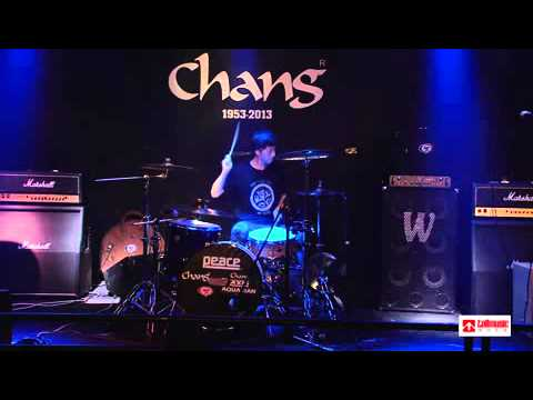 2013 CHANG CYMBAL DRUMMER FESTIVAL