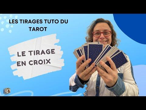 2116c8a88eb6b4 Tarot de Marseille   méthode pour le tirage en croix - YouTube