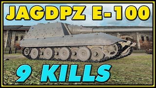 World of Tanks | Jagdpanzer E-100 - 9 Kills - 8.7K Damage