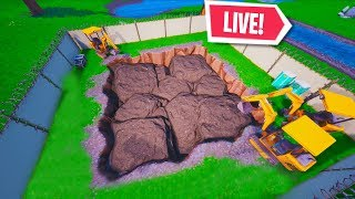 *NEW* FORTNITE LOOT LAKE RUIN EVENT is NOW! LIVE DIG SITE EVENT (Fortnite Battle Royale)