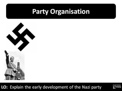 6   The Early development of the Nazi party