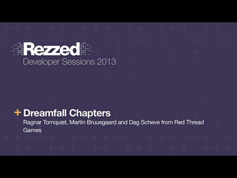 Dreamfall Chapters - Rezzed 2013 Developer Sessions