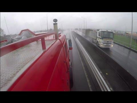Geoffs truck POV  Southern Motorway Bombay to Auckland