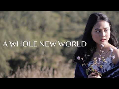 "Mena Massoud, Naomi Scott - A Whole New World (COVER) (From ""Aladdin"") Real 