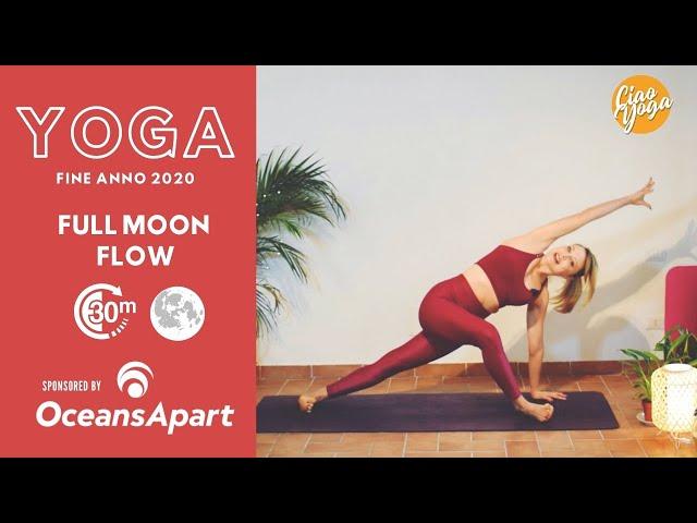 Yoga Vinyasa Luna piena! *Speciale fine anno!
