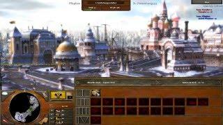Age of Empires III Multiplayer Gameplay - Mirror Matchup [Deutsch/HD]