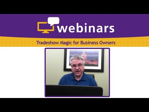 Tradeshow Magic for Business Owners