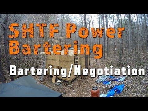 SHTF Power Bartering
