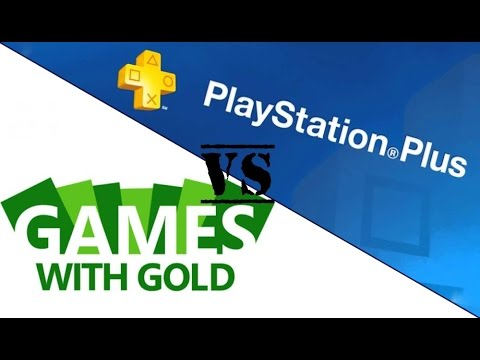 (Xbox One) Games With Gold Games Vs (PS4) PlayStation Plus Games