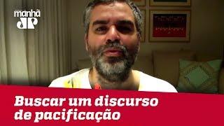 Virtualmente eleito, não seria hora de Bolsonaro buscar um discurso de pacificação? | Andreazza