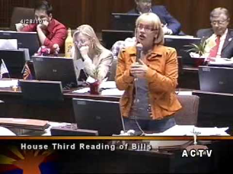 Rep. Kyrsten Sinema blasts Republicans' ridiculous bill on human-animal hybrids