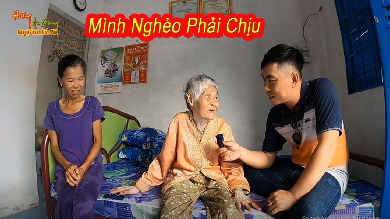 Bà cụ 86 tuổi   Nghèo thì mình chịu chứ biết phải làm sao