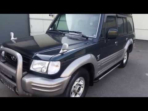 Autowini 2000 Hyundai Galloper 2 4WD MANUAL EXCEED - YouTube