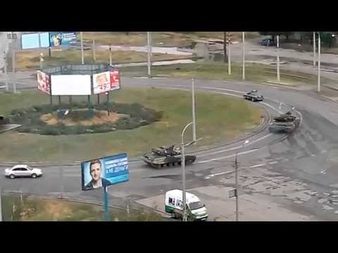 Ukrainian Tanks in Mariupol, June 18