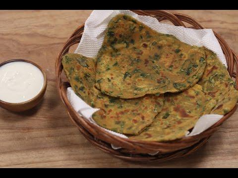 Methi Parantha | Recipes Under 15 Minutes | Chef Jaaie | Sanjeev Kapoor Khazana