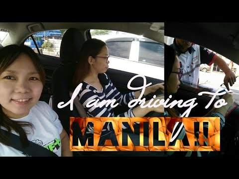 VLOG: OMG I am Driving to MANILA! | City Driving | Events With Yheng