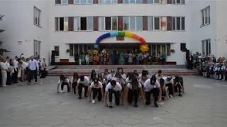 Флешмоб старших классов. 9-11. СШ№14 г. БРЕСТ