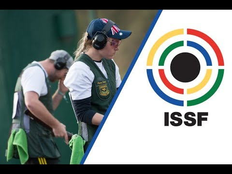 Interview with Thomas D. GRICE and Penny SMITH (AUS) - 2017 ISSF World Championship in Moscow (RUS)