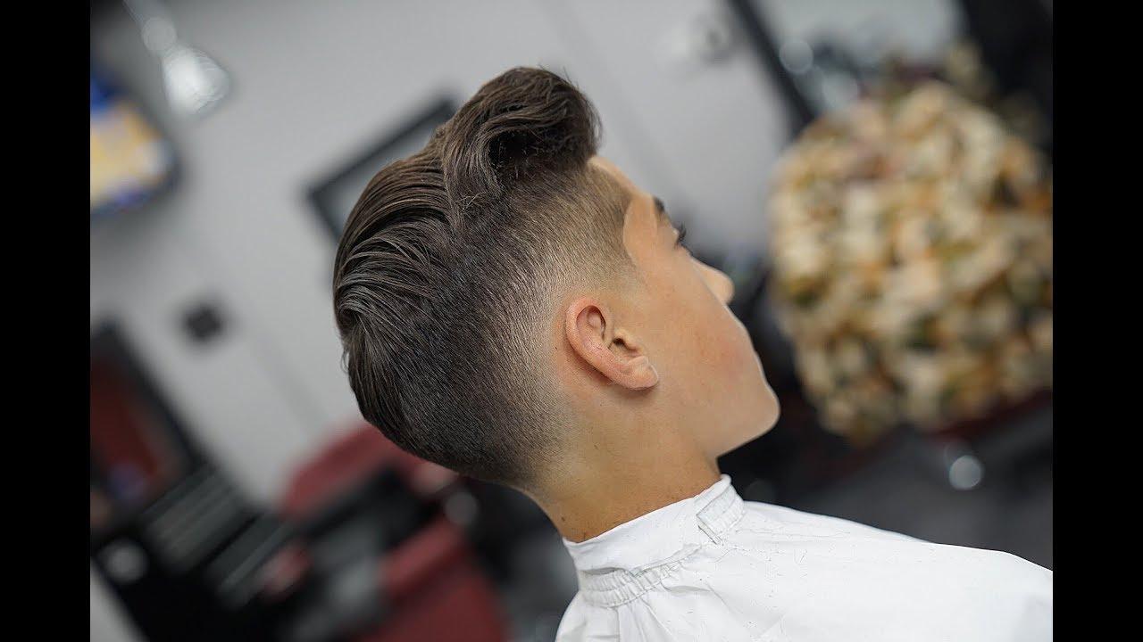 Mens Haircut Low Fade Tutorial Youtube