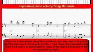 Скачать Spain Chick Corea Jazz Piano Lesson