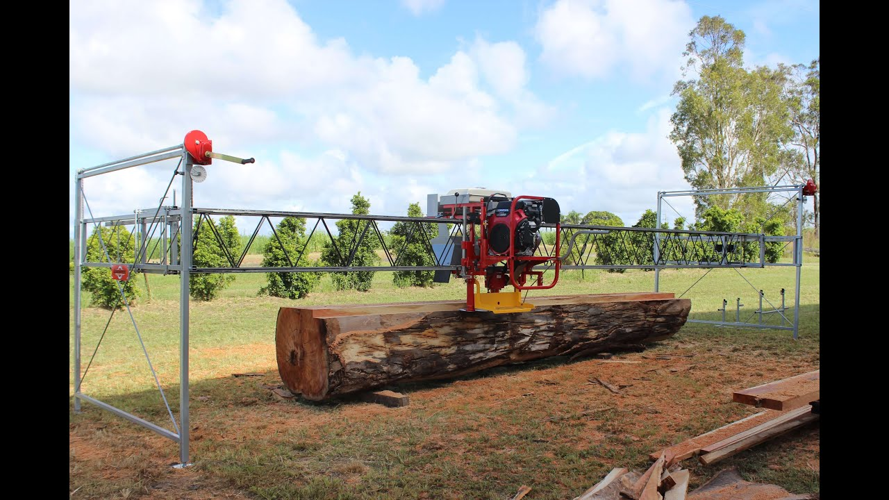 Goodwood Mobile Sawmills: Portable Sawmill Manufactured in Australia