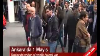 1 Mayıs İşçi Bayramı Kutlamaları Ankara Kızılay