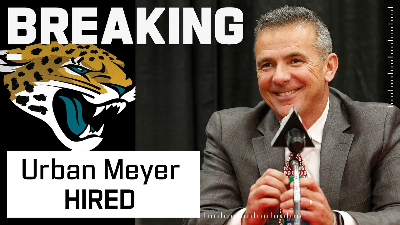 Download Jacksonville Jaguars Hire Urban Meyer as Head Coach
