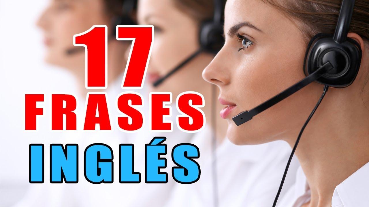 17 FRASES MUY USADAS EN INGLÉS DE CALL CENTER | Aprender Ingles con Alan