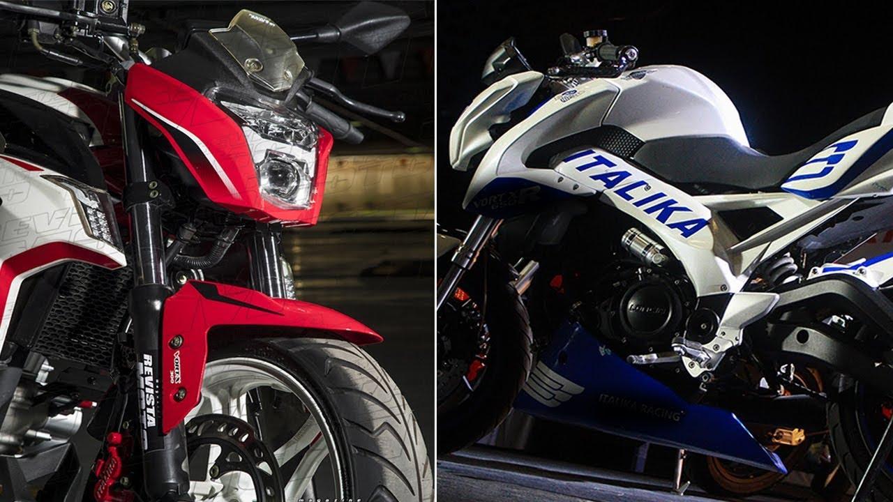 Nueva Moto Italika Vort X 200 Akt La Pulsar Ns200 Es
