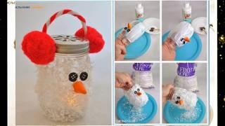 35 Mason Jar Christmas Ornaments