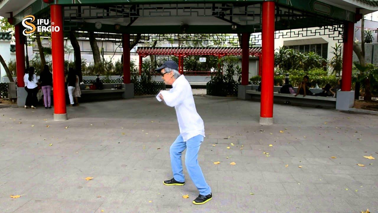 Sifu Sergio Presents GM Hawkins Cheung demonstrating his water Taijiquan - YouTube