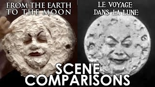 From the Earth to the Moon (1998) and Le voyage dans la lune (1902) - scene comparisons