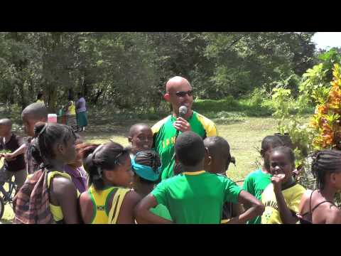 Jamaica Day Celebration at the Church Hill School in Hanover Parish of Jamaica