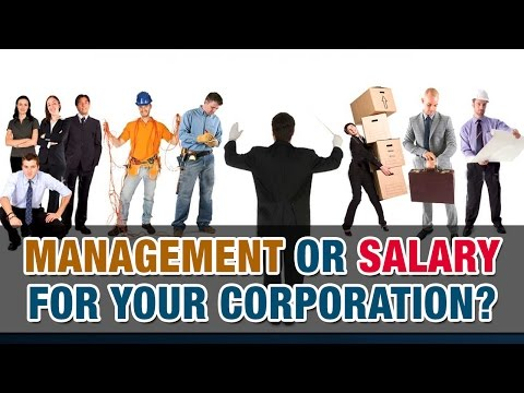Is it better to receive management fees or salary from your corporation? - Tax Tip Weekly