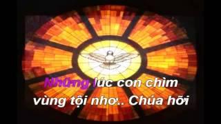 Karaoke Chúa Quá Nhân Từ:Tác Giả Thy Yên