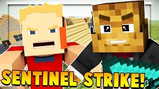 BRAND NEW MINIGAME Minecraft Sentinel Wars (King of the Hill)
