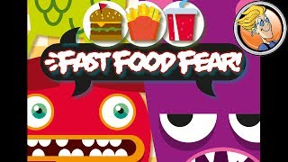 Fast Food Fear! — game preview at Origins Game Fair 2017