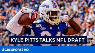 Kyle Pitts Talks 2021 NFL Draft | CBS Sports HQ
